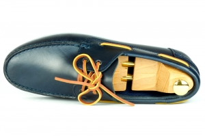 Lord Boat shoes - Granatowe