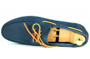 Lord Boat shoes - Zamsz/Granatowe