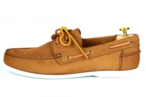 Lord Boat shoes - Zamsz/Brązowe