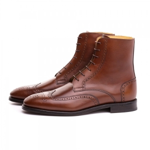 512 - Boots Full Brogues Brown