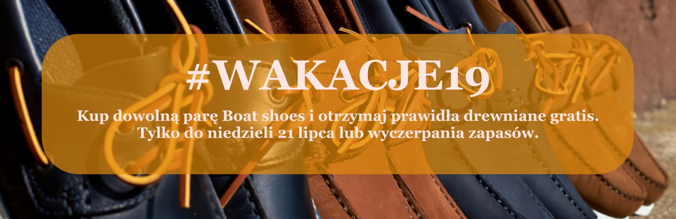 Boat shoes promocja